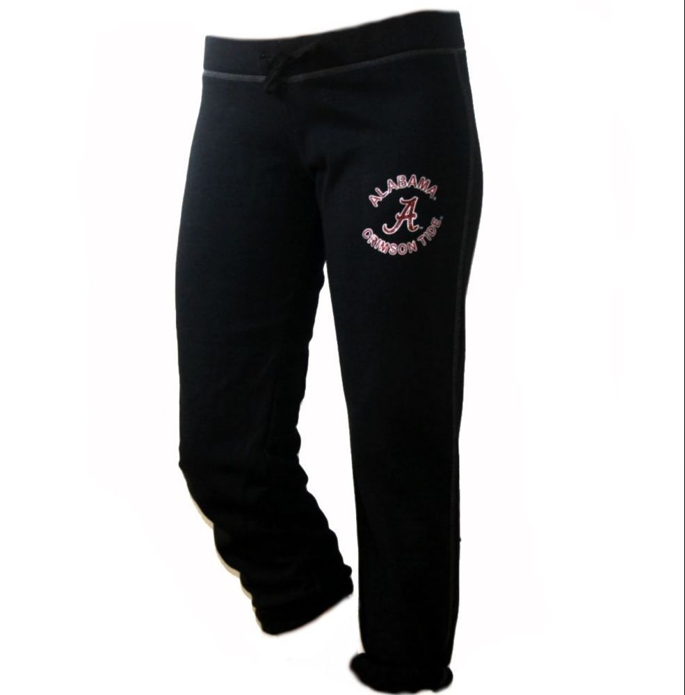 Alabama Crimson Tide Capri Sweatpants NCAA University Of Alabama Roll Tide  SML #Soffe #PantsTightsLeggings