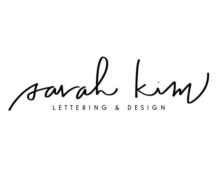 Sarah Kim | Lettering & Design