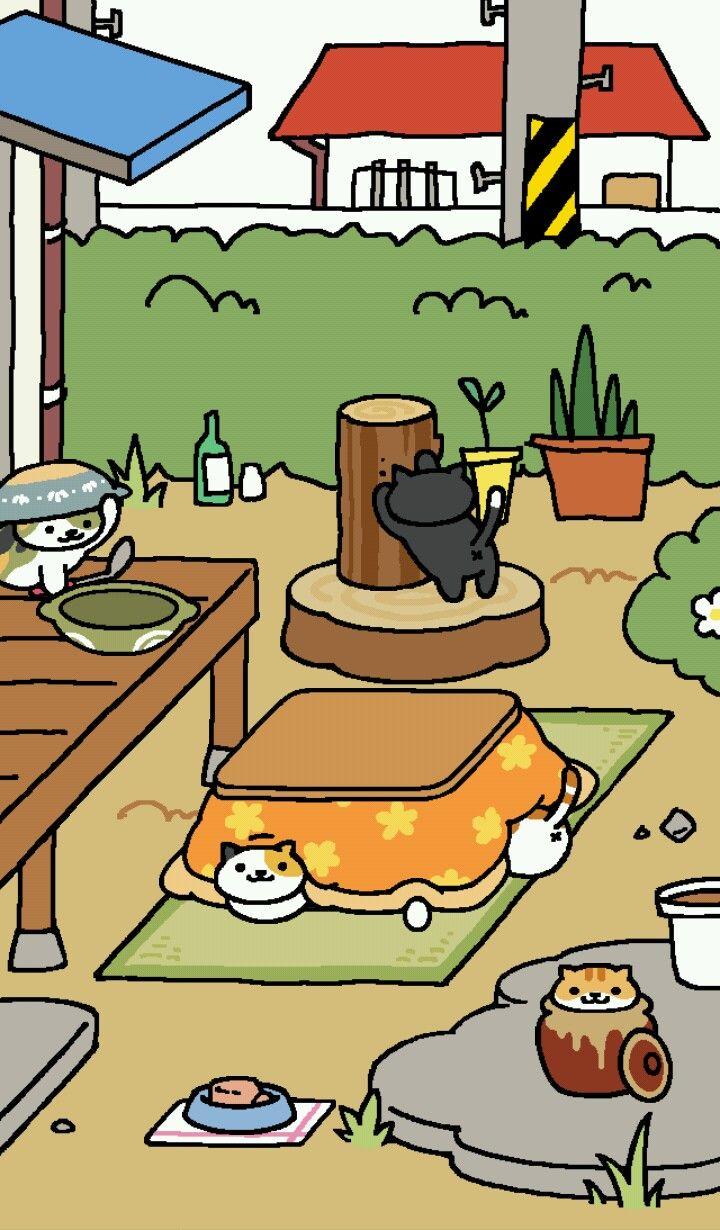 なべねこさん ねこ 猫 黒ねこ
