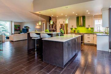 Vega   Modern   Kitchen   Calgary   Superior Cabinets