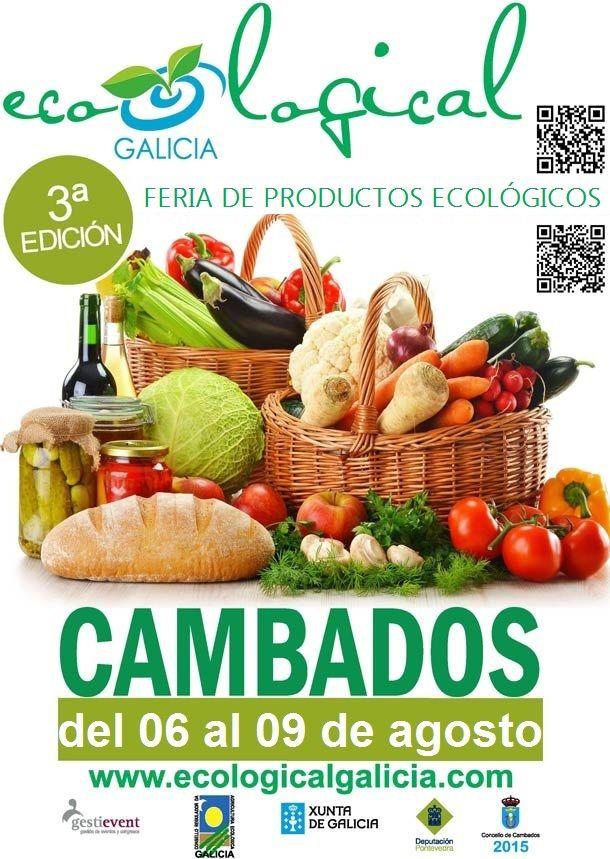 ¿Tenéis plan para la semana que viene? Se celebra la 3ª edición de la Feira de #ProductosEcológicos en Galicia. Te recomendamos que la visites si eres fan de los productos ecológicos.  Si quieres saber más información: http://bit.ly/1gpll2M  #EcologicalGalicia #Feria #Salud #Eco #Health
