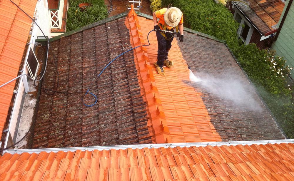 low pressure roof washing jacksonville