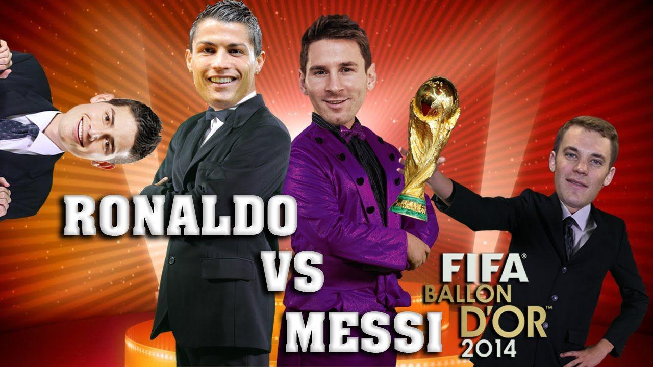 Messi Vs Ronaldo 2 Balon De Oro 2014 English Subtitles