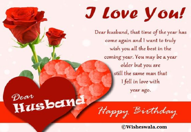 Romantic Happy Birthday Wishes For Husband Birthday Wish For Husband Happy Birthday Husband Birthday Message For Husband