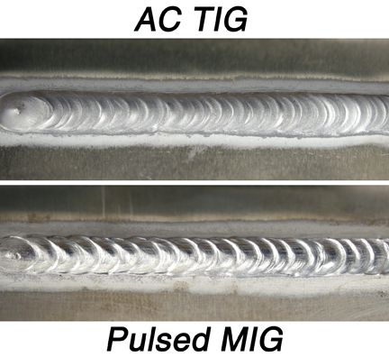 Miller New Inverter Based Pulsed Mig And Tig Welding