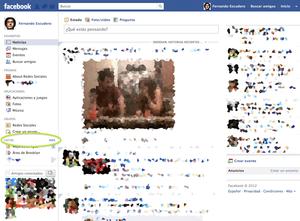 Cómo crear listas de amigos en Facebook: Ingresa a Facebook y elige la opción Listas