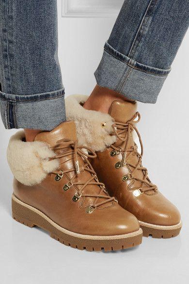 jennings shearling boot