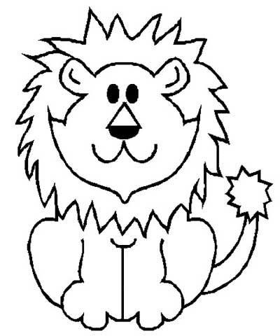 Desenhos Leao Colorir Atividades Escolares 1 Leao Para Colorir