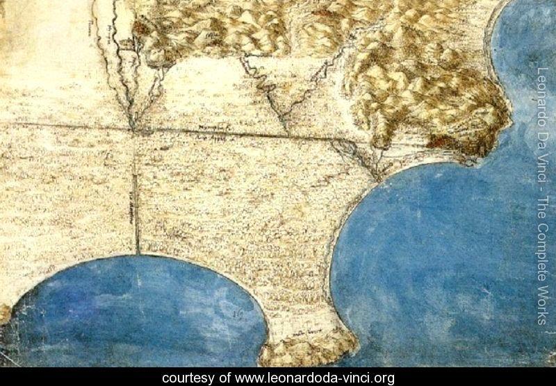 Birds Eye View Of Sea Coast Leonardo Da Vinci Www Leonardoda