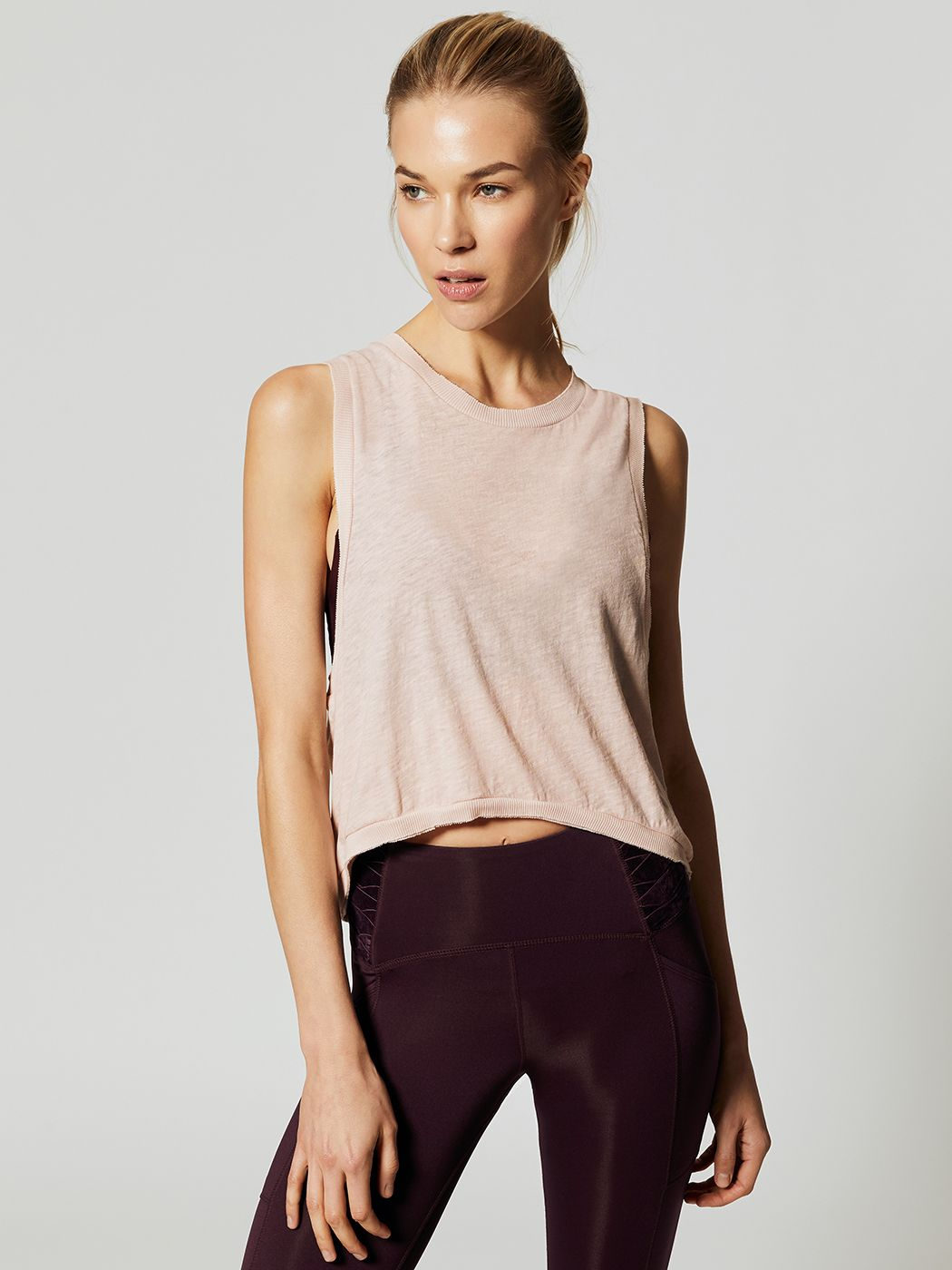 80e6701af5694 Free People Movement LOVE TANK - Taupe - Fashion Activewear Running