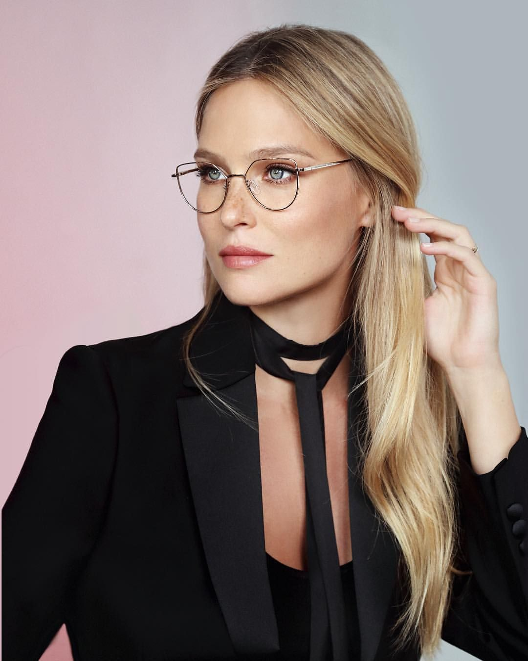 3cd2a5a546 Gorgeous  barrefaeli in our new optic campaign  CarolinaLemkeOptic Model  No.CL6568-4