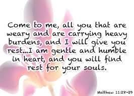 March 16 - Matthew Bible Study - Matthew 11:28 - Rest When I Am Weary  www.womenlivingwell.com
