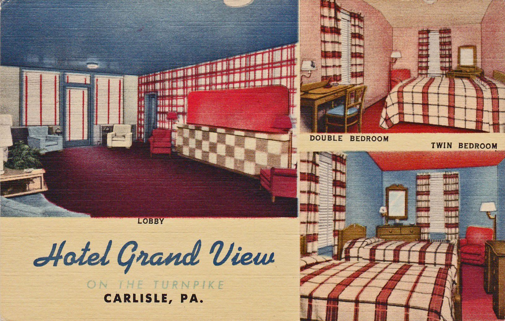 Grand View Hotel Carlisle Pa Located Opposite The