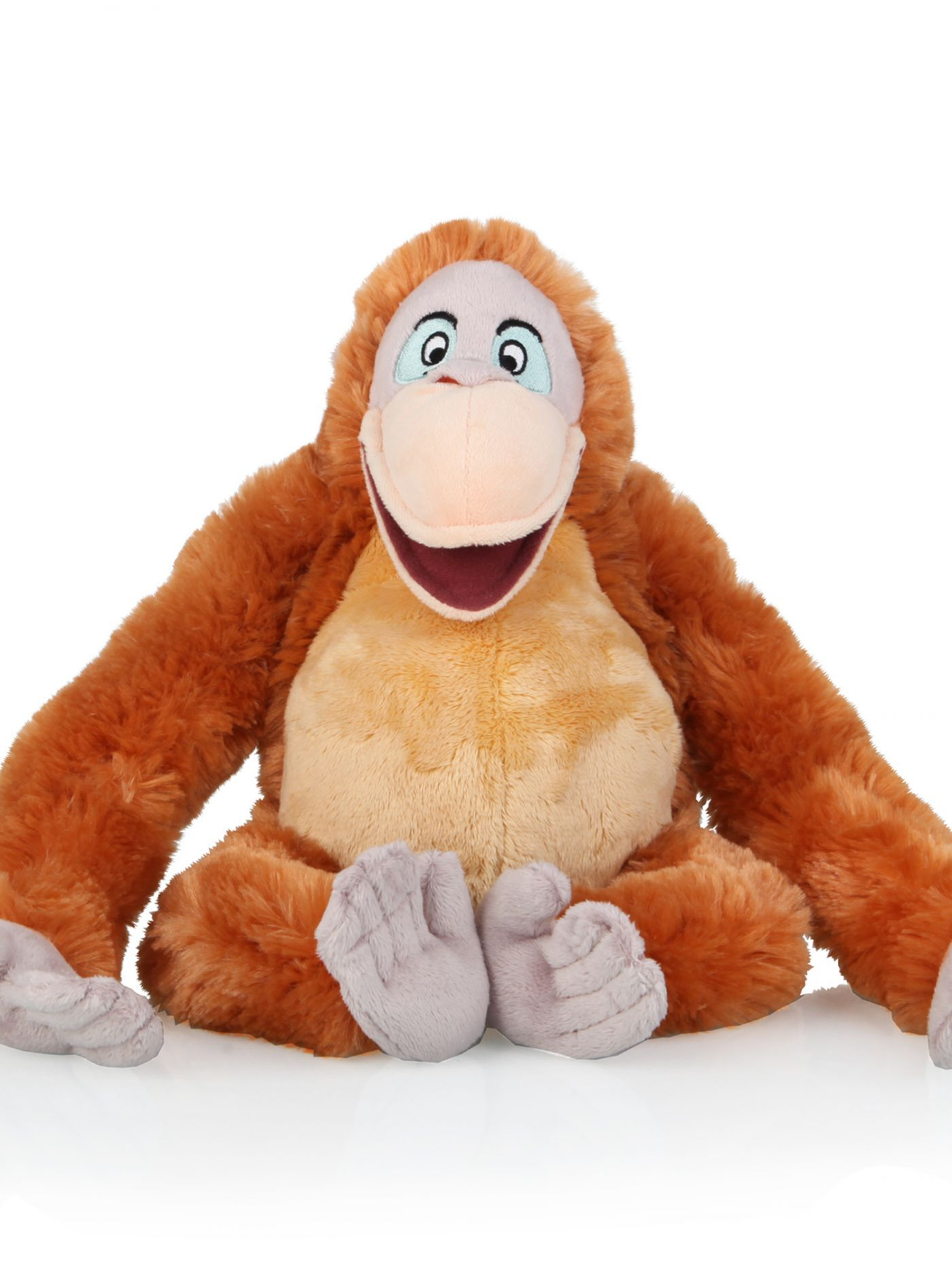 the jungle book king louie soft toy 10inch clintons disney and