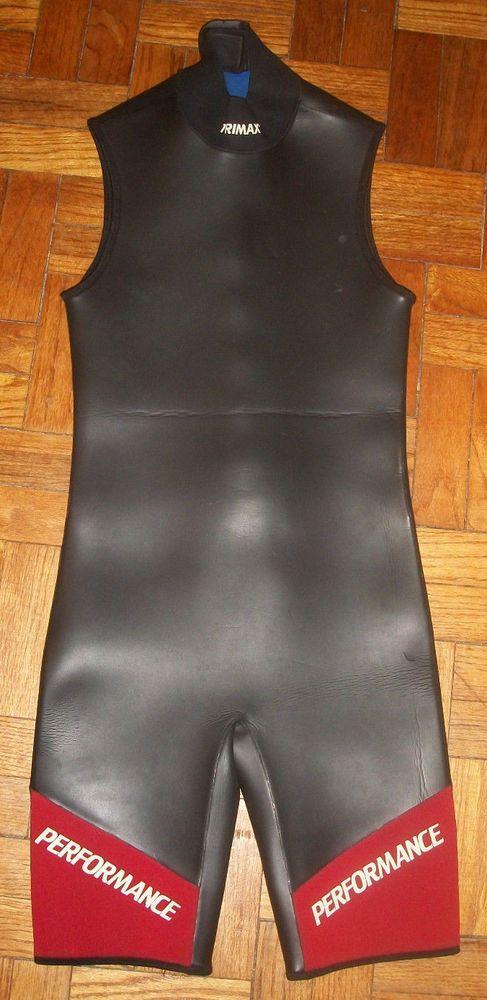 TRIMAX PERFORMANCE Wetsuit Women's Medium M Sleeveless Short #TRIMAX