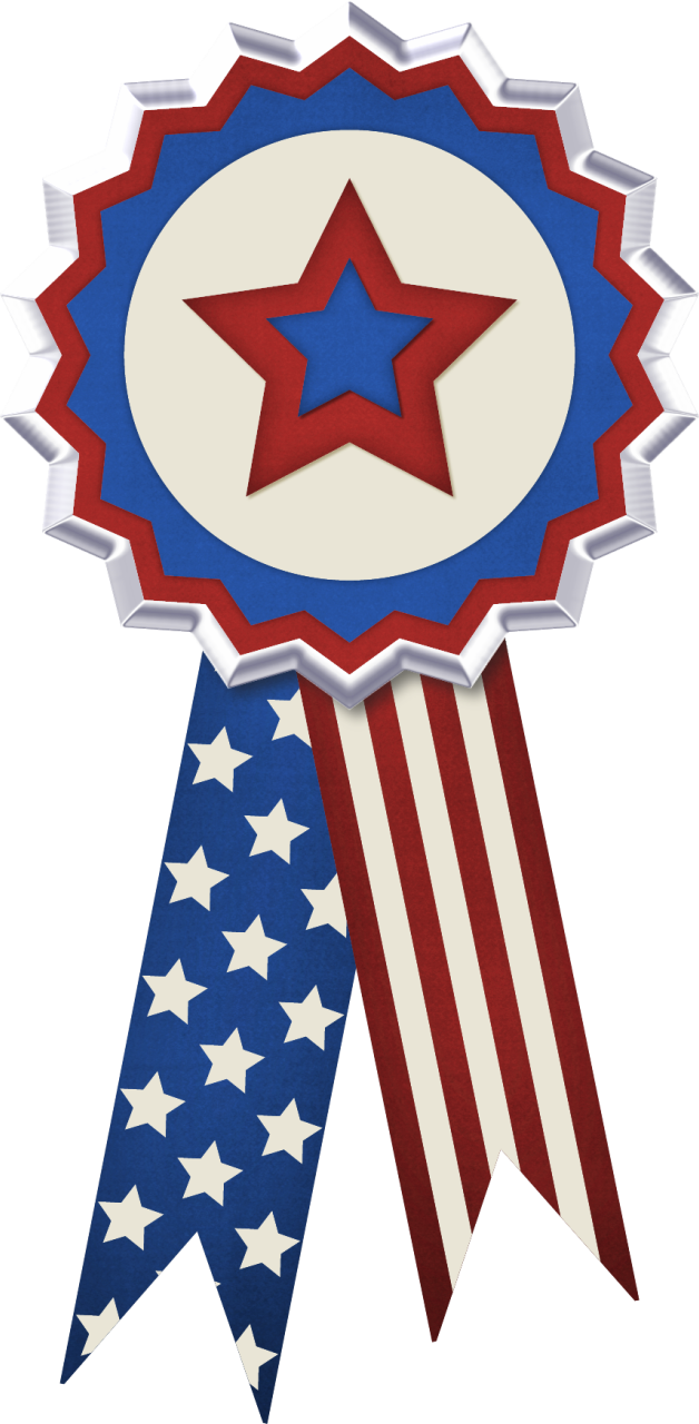 It's just a graphic of Critical Patriotic Banner Clipart