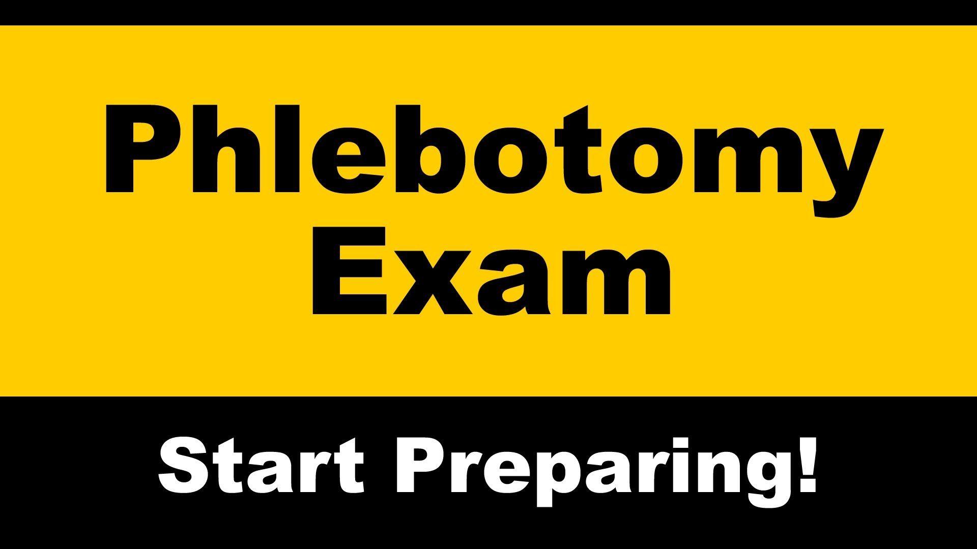 Phlebotomy exam review order of draw emt study