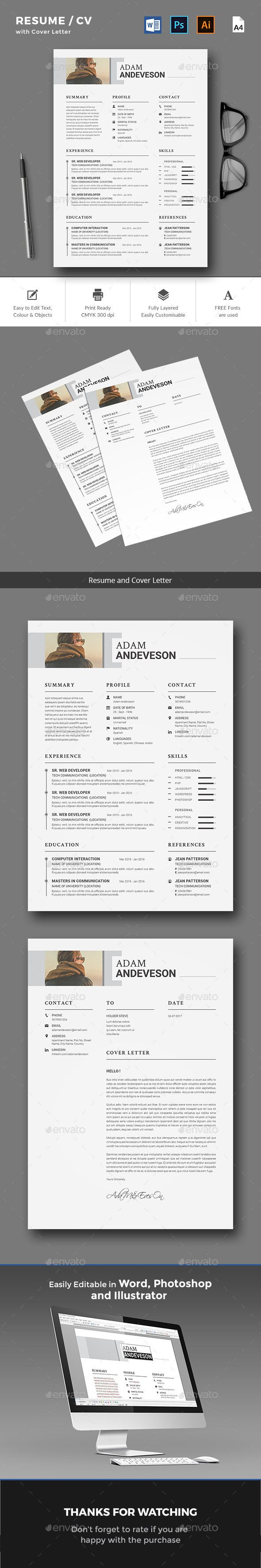 Resume CV by yellowkyte Resume