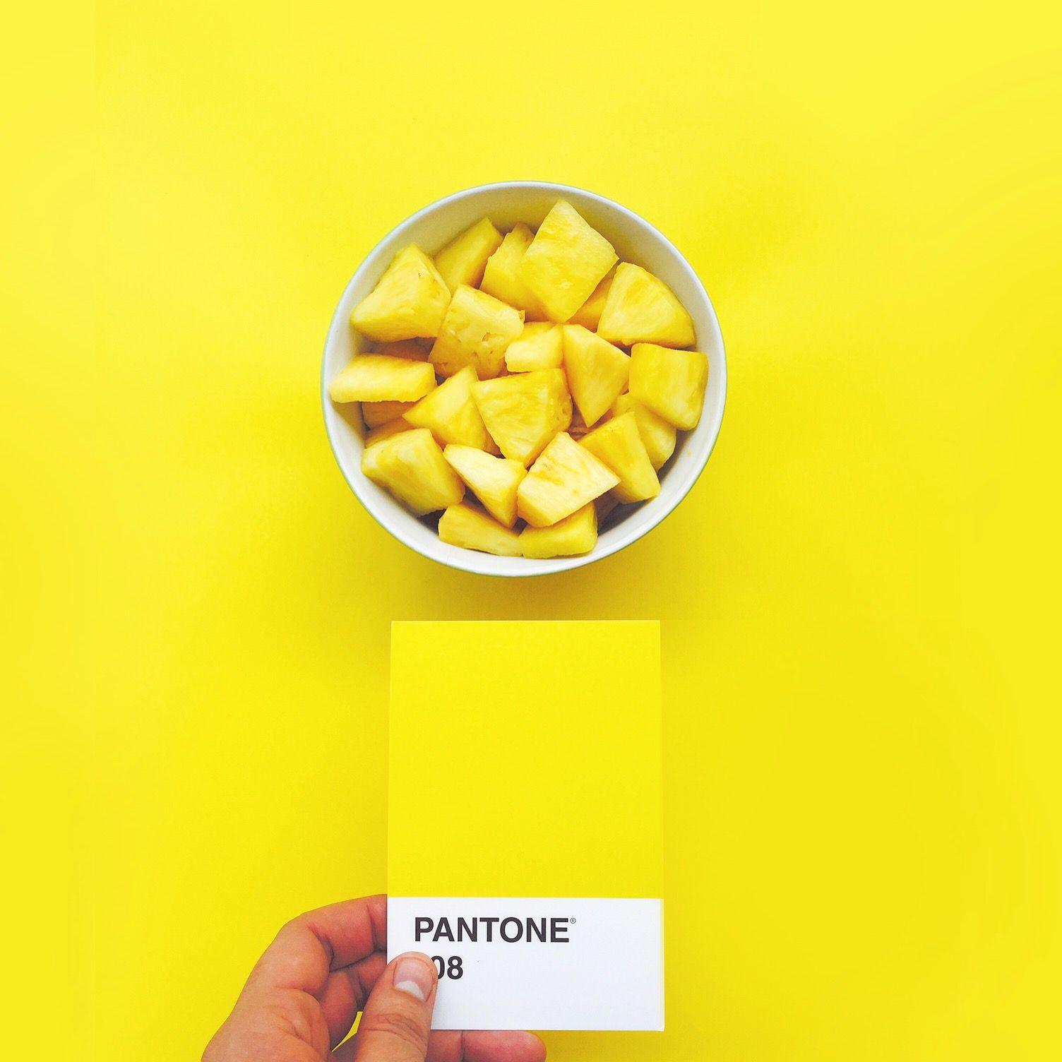 Pantone 108 PanamaPantone Yellow Color Pineapple Panama
