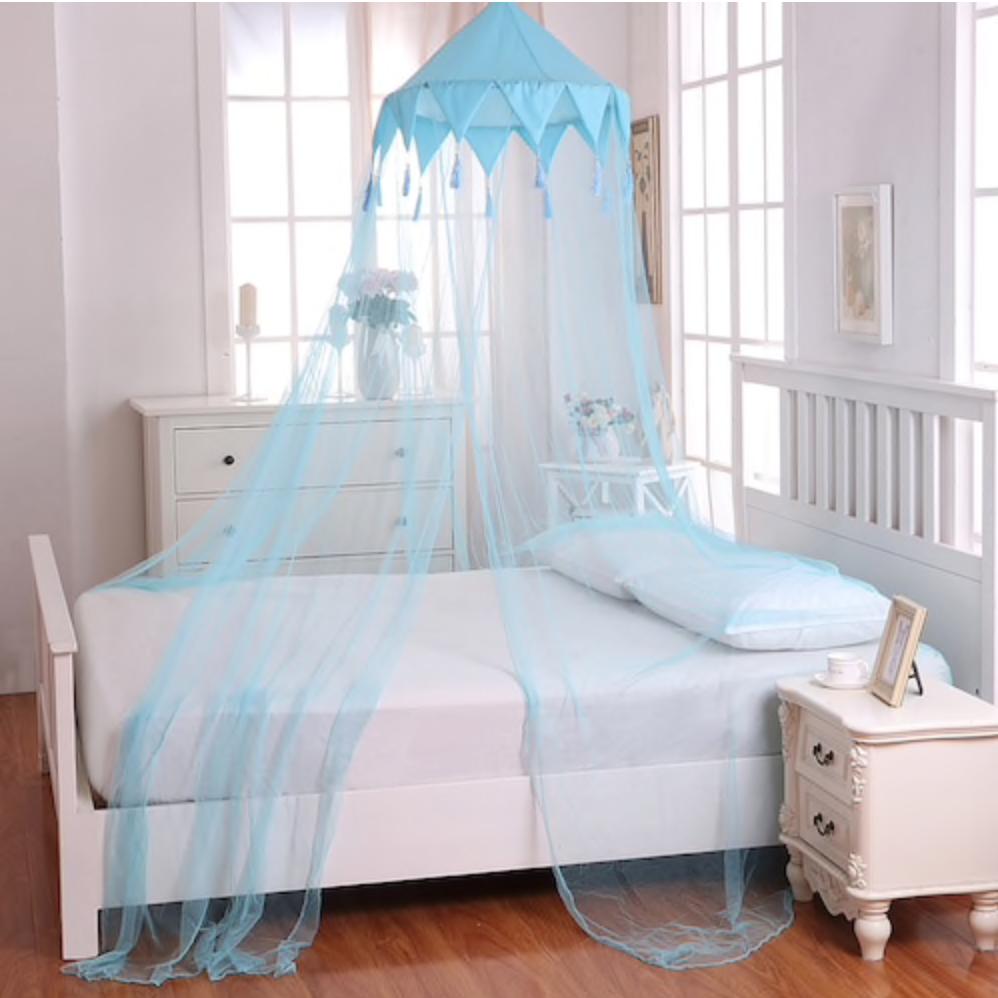 Casablanca Kids Harlequin Sheer Collapsible Hoop Bed Canopy Kids Bed Canopy Harlequin Bedding Kid Beds