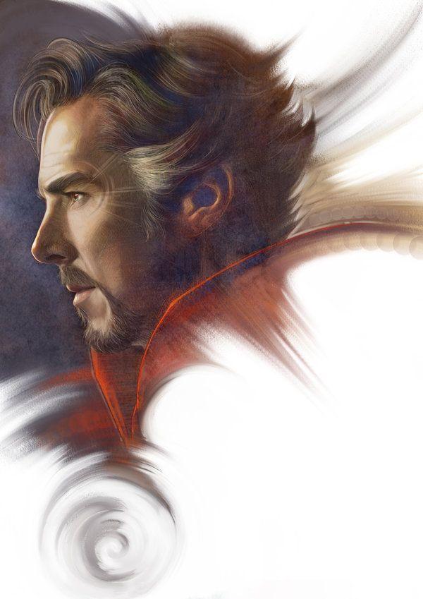 Doctor Strange Portrait - Singhooi Lim