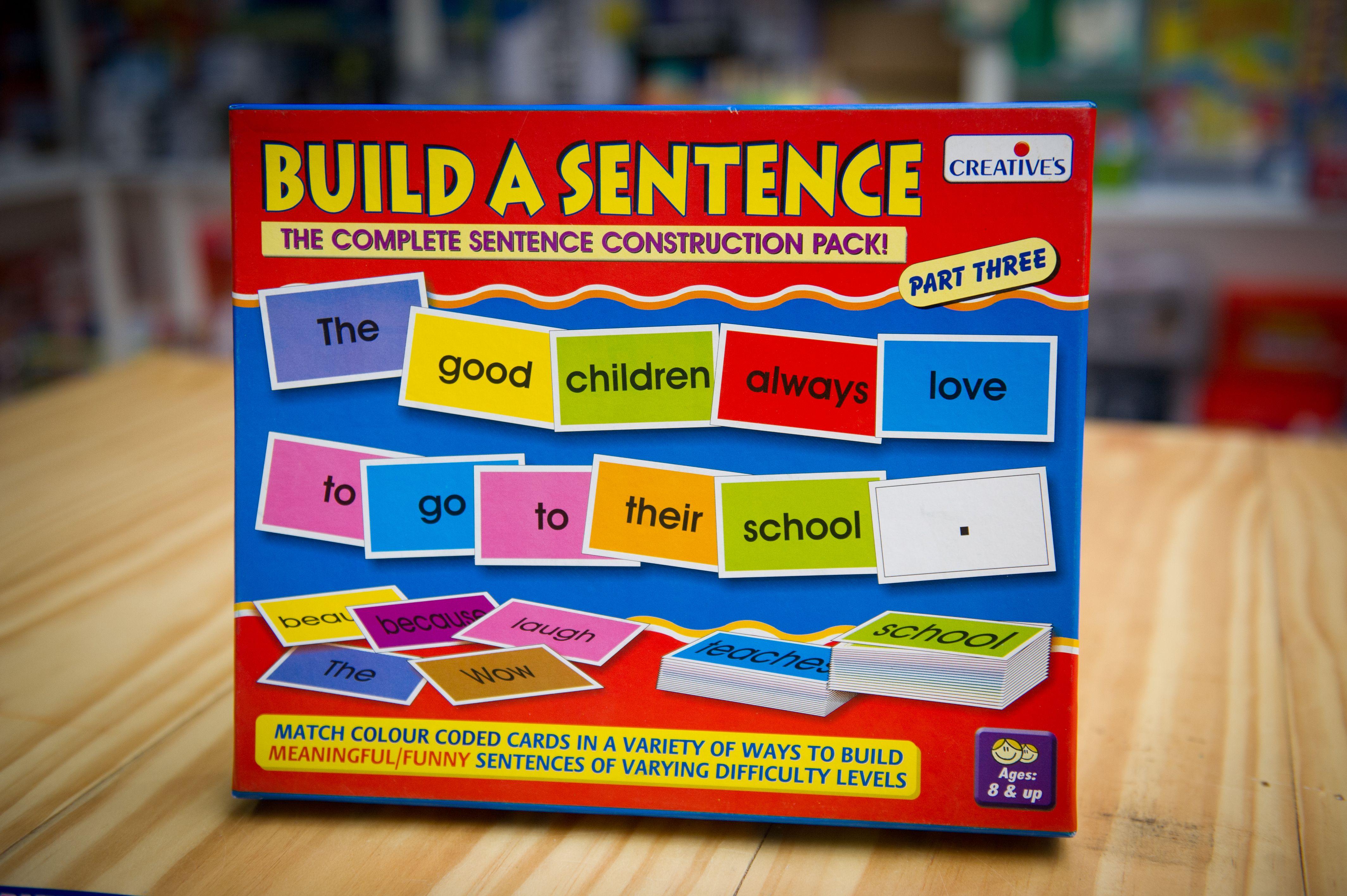 Creative Build A Sentence 3