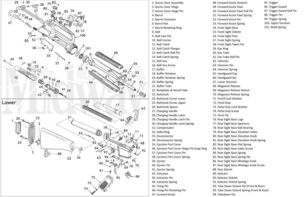 plete ar 15 manufacturer list with links ar15 archive AR-15 Lower Exploded-View image result for ar 15 lower parts list ar platform ar build tactical gear