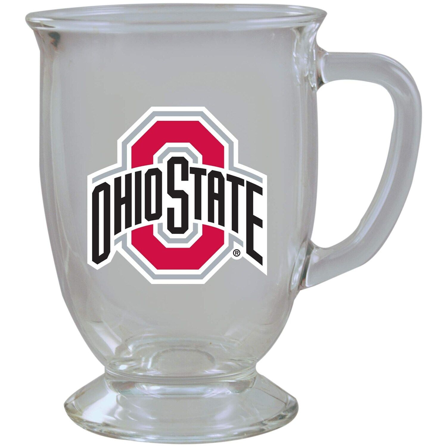 Ohio State Buckeyes 16oz. Kona Glass Mug