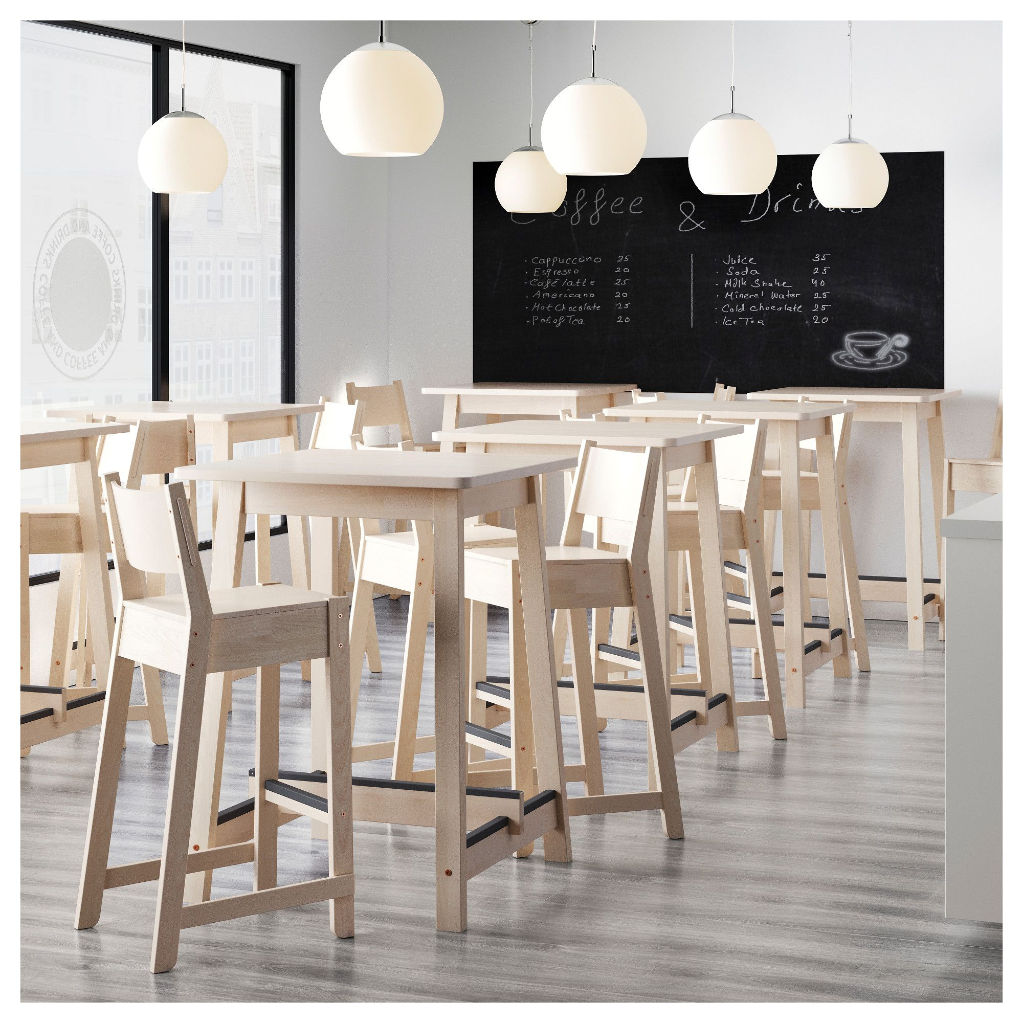 norr ker bar table white birch in 2018 products. Black Bedroom Furniture Sets. Home Design Ideas