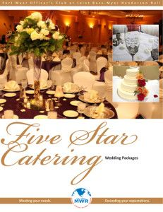 2014-MYER-WEDDING-Catering-Brochure-1 | Flyers and Brochures | Pinterest