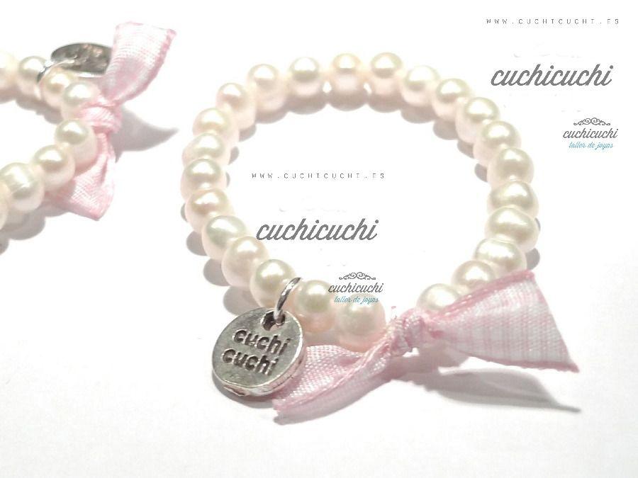 f3afb1822881 pulsera de perlas para bebe - Buscar con Google