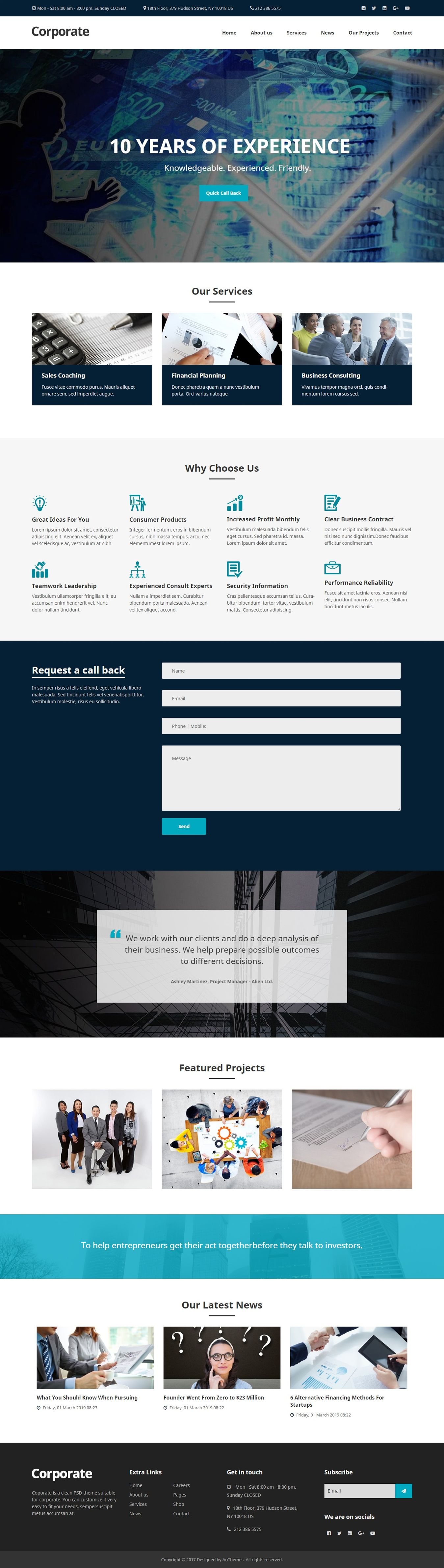 Badbadrobot Twitchie Website Template 1