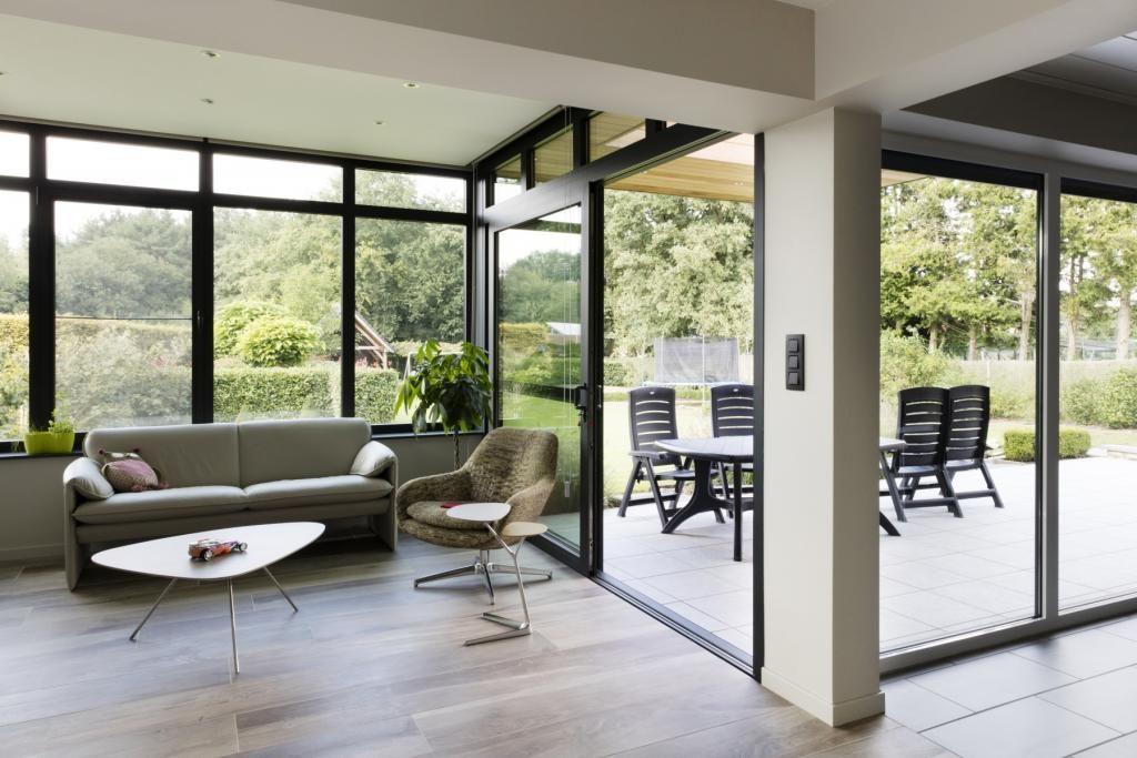 Veranda | Reynaers Aluminium netwerk - Veranda, Meubel ideeën en Architectuur