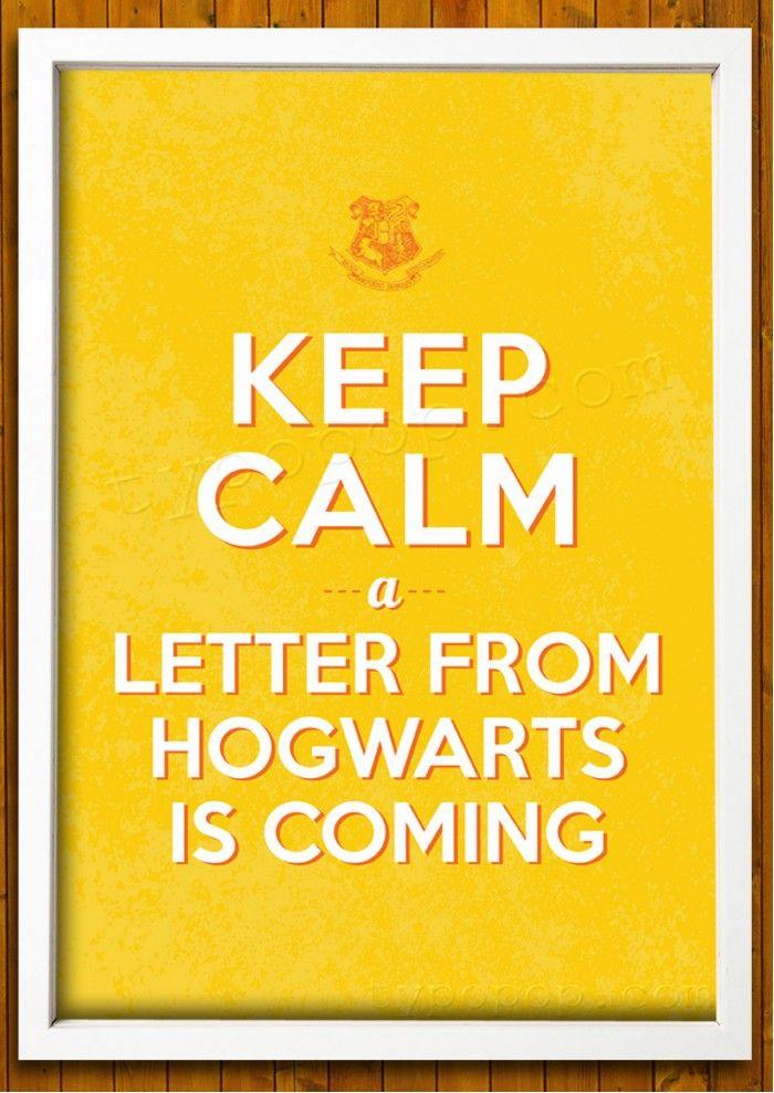 typopop.com Printable Wall Art | Only $5 | Keep Calm Harry Potter Hogwarts