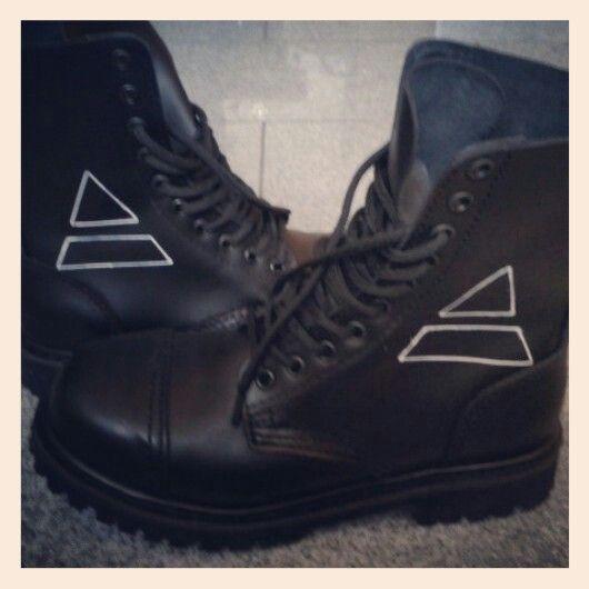 my Mars-boots