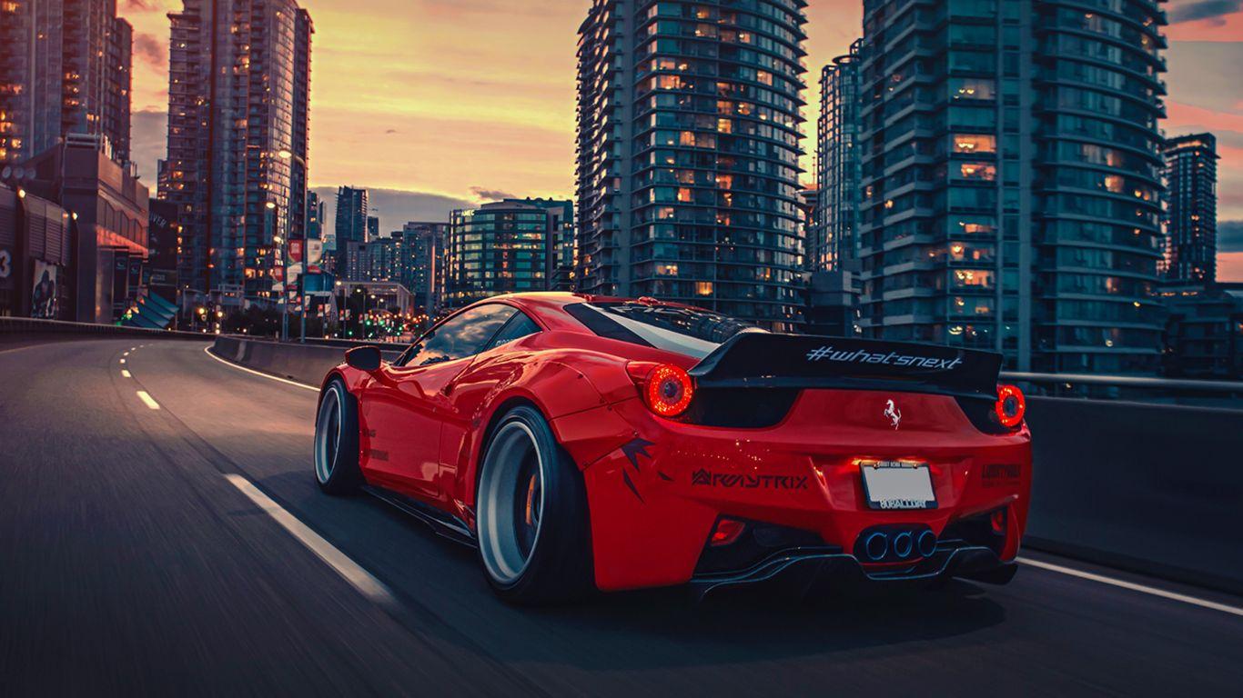 Ferrari 458 1366x768 Ferrari 458 Ferrari 458 Italia Car Wallpapers