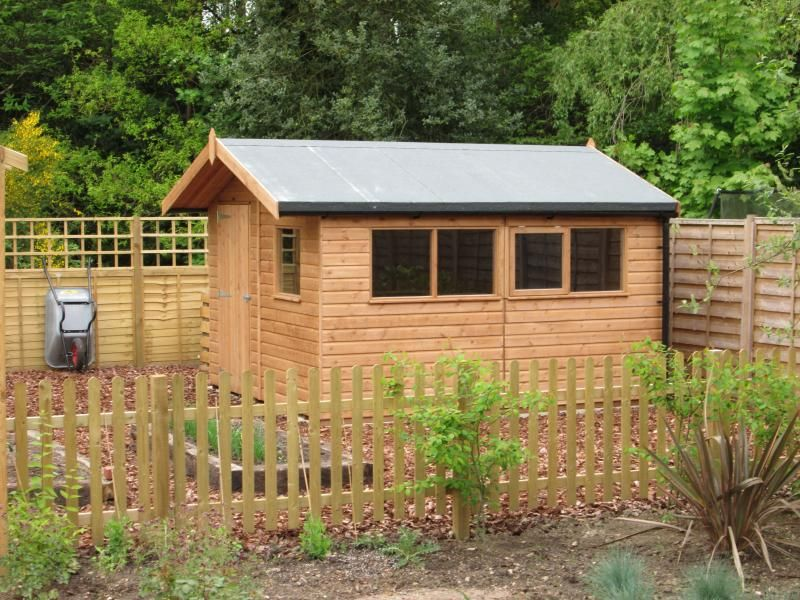 8 x 14 superior garden shed with pent roof plan free delivery installation included - Garden Sheds 8 X 14