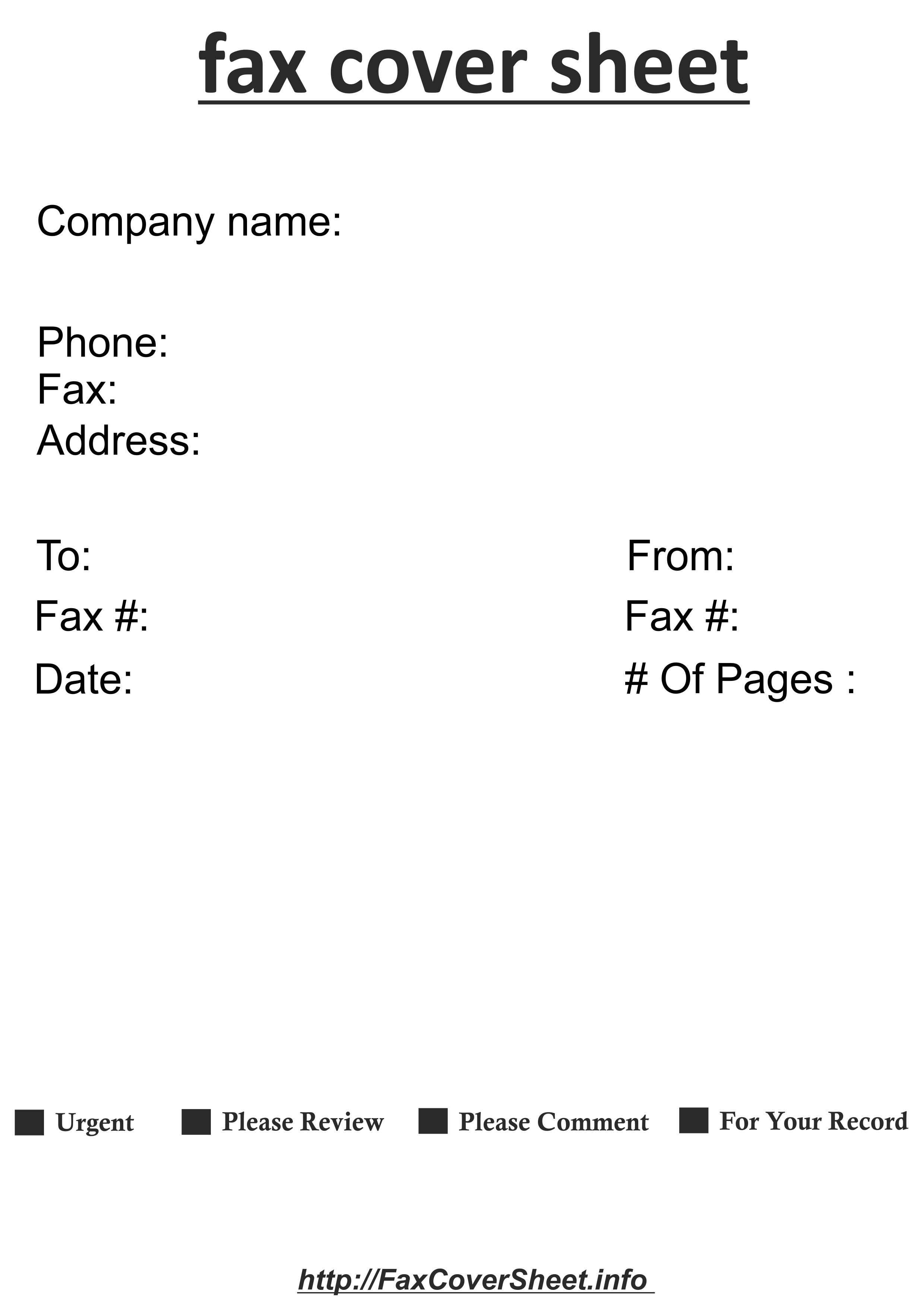 how to write a fax cover sheet in simple steps printable templates