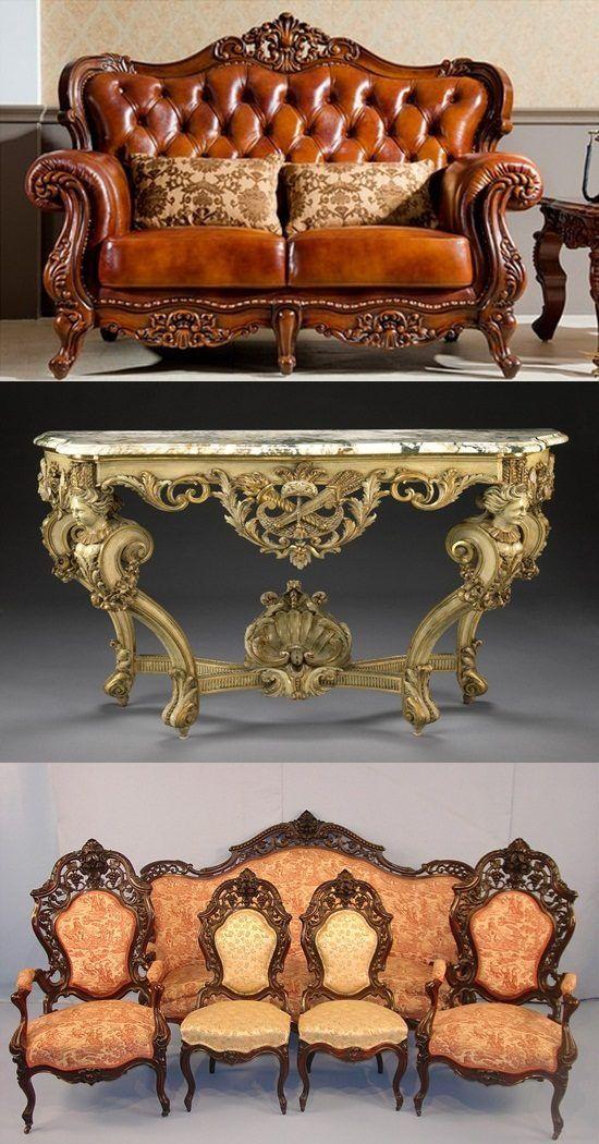 English Baroque And Rococo Furniture Antiques Http Interiordesign4 Com English Baroque Rococo Furniture Rococo Furniture Baroque Furniture Gothic Furniture