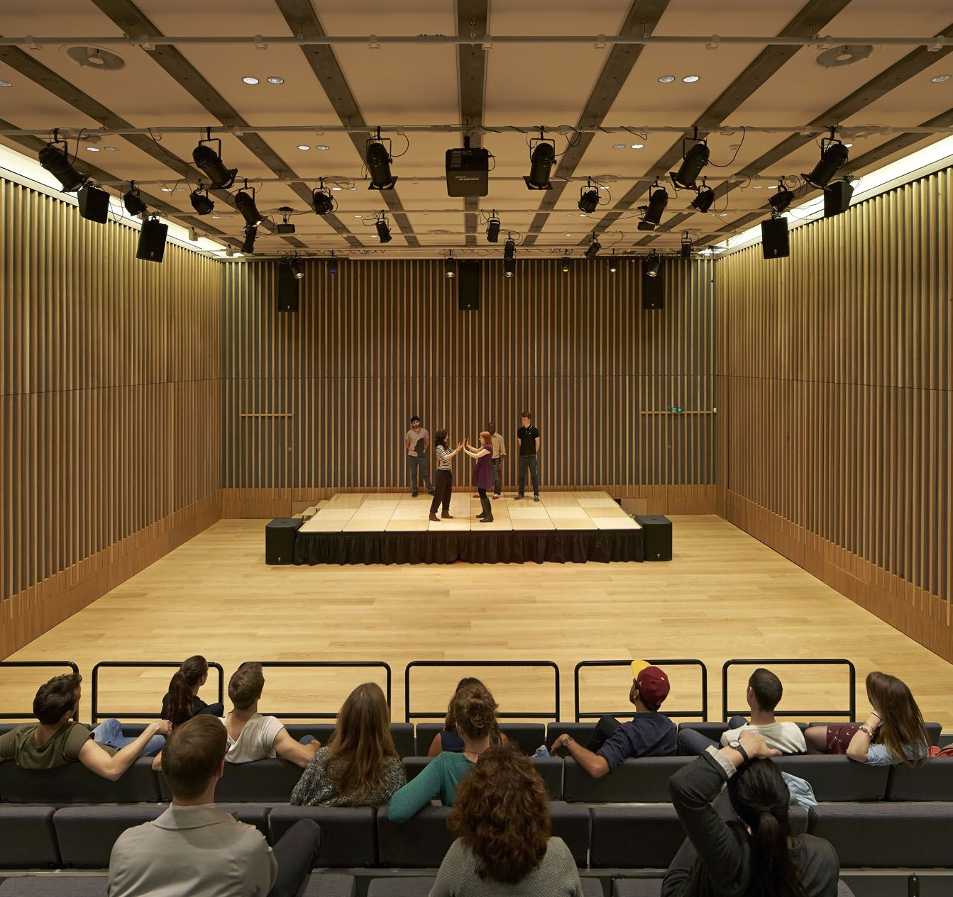 JW3 auditorium performance | Lifschutz Davidson Sandilands ...