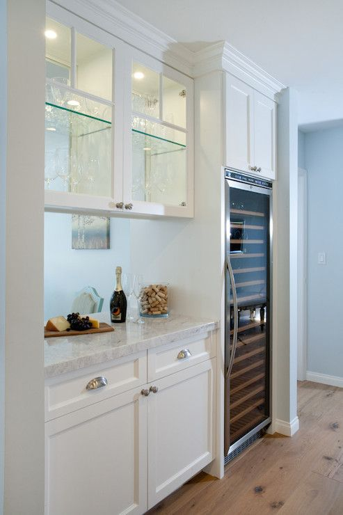 See Through Kitchen Cabinets Contemporary Benjamin Moore Lookout Point Lauren Shadid Architecture