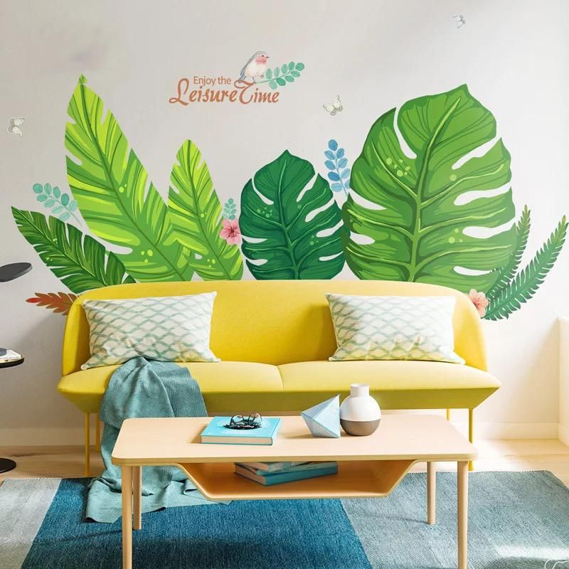 Tropical Wall Decals Wall Decals Stickers For Living Room