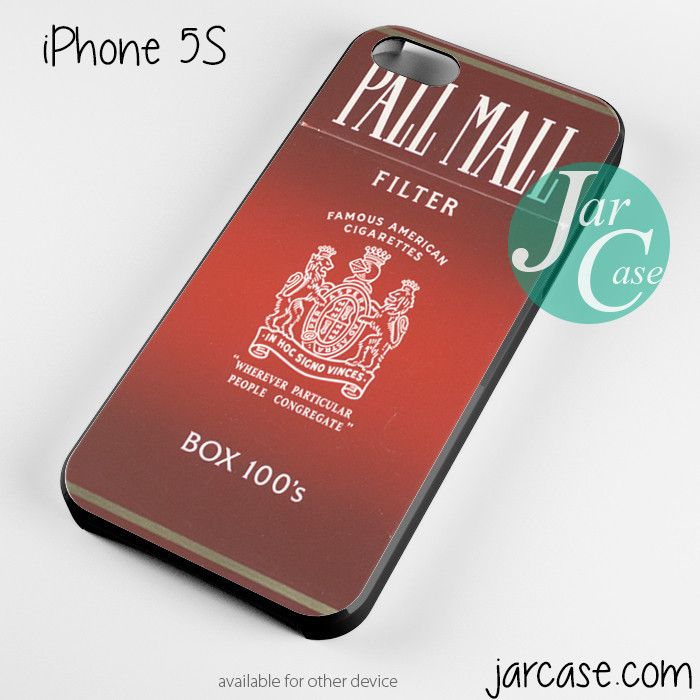 pall mall cigarette red filter Phone case for iPhone 4/4s/5/5c/5s/6/6 plus