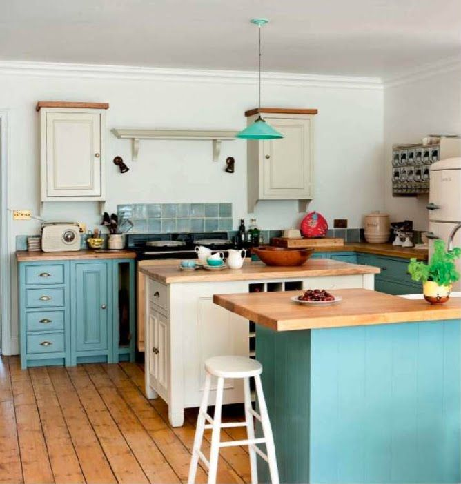 A Little Turquoise And Aqua Kitchen Inspiration Turquoise Kitchen Cabinets Kitchen Design Decor Kitchen Inspirations