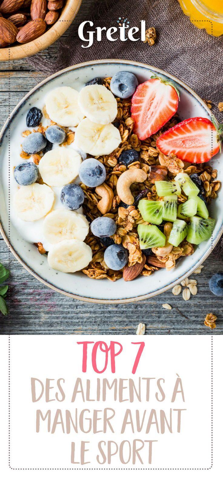 Découvrez les 7 aliments à favoriser avant le sport