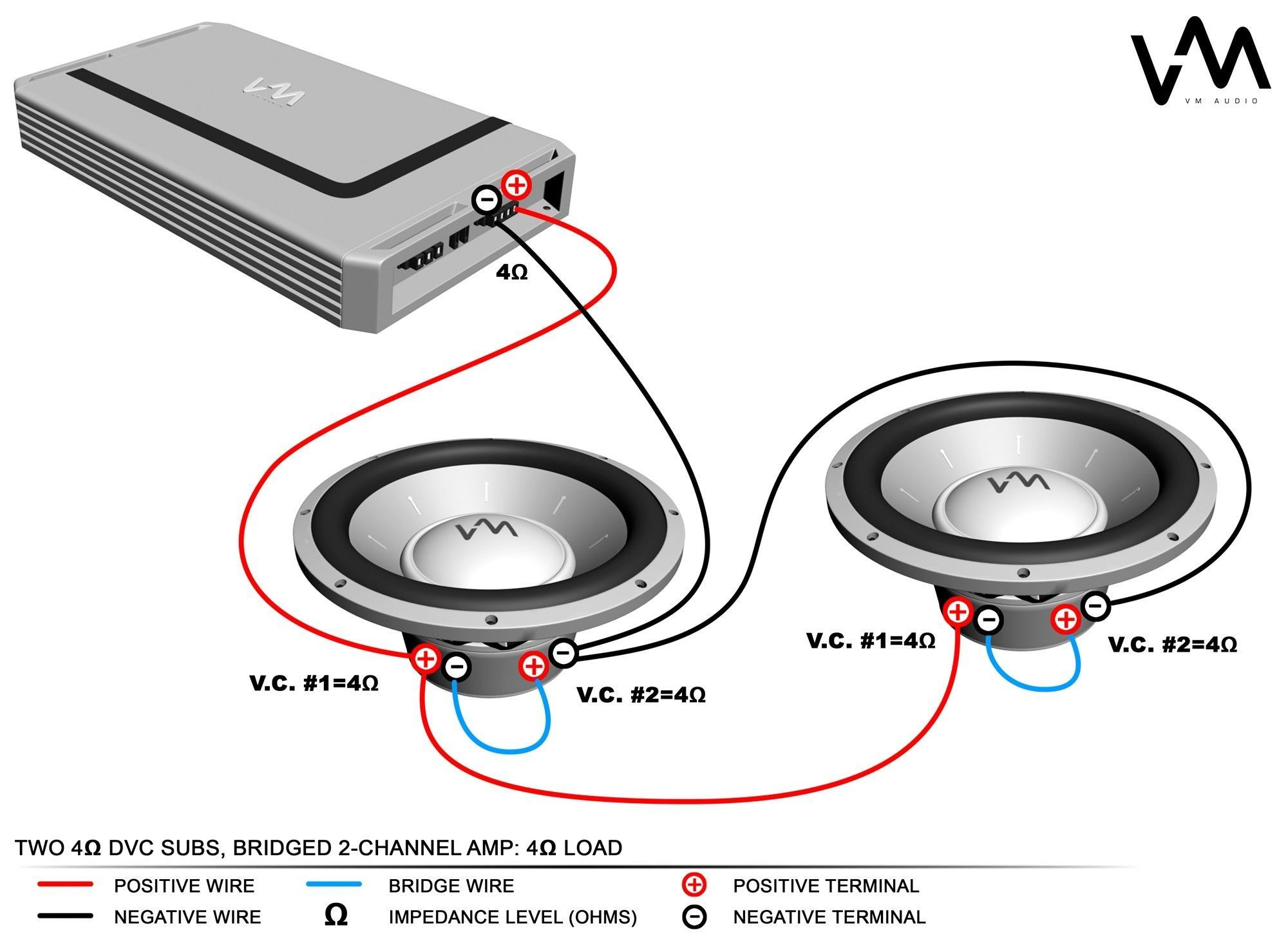 Subwoofer Wiring Diagram Dual 2 Ohm