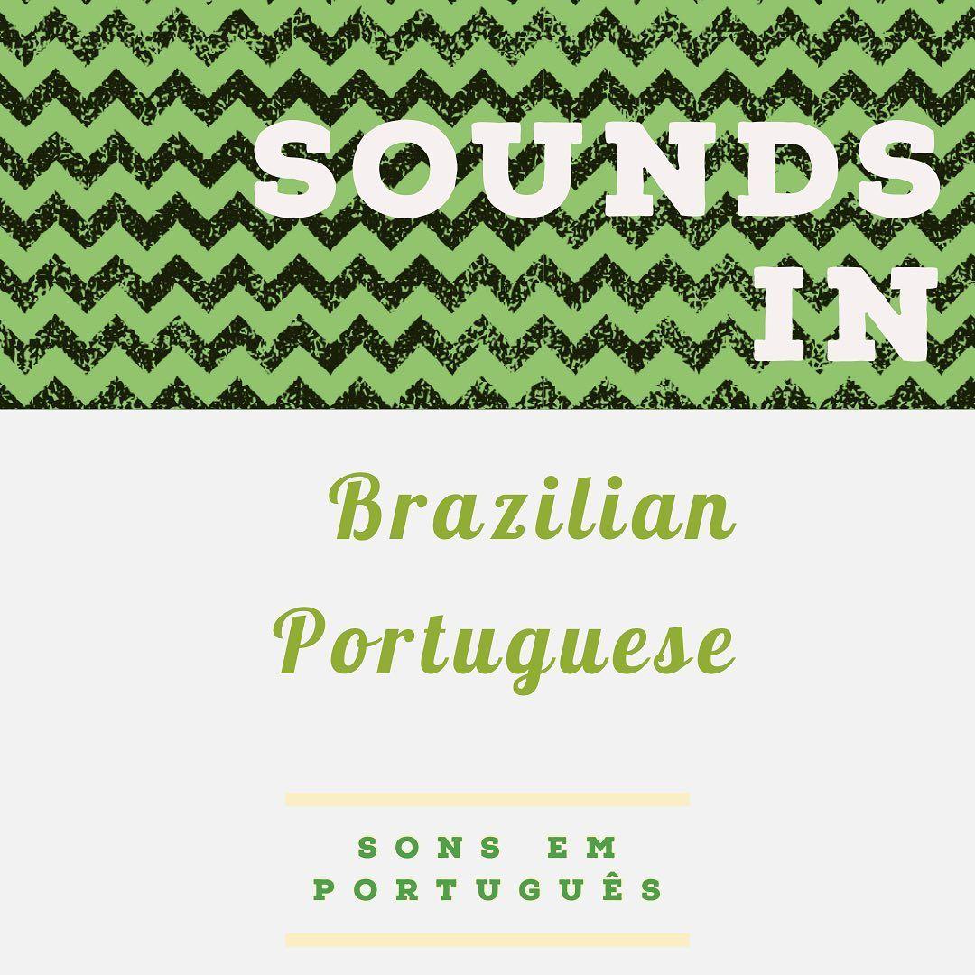 """Português com música on Instagram """"Portuguese sounds Z"""