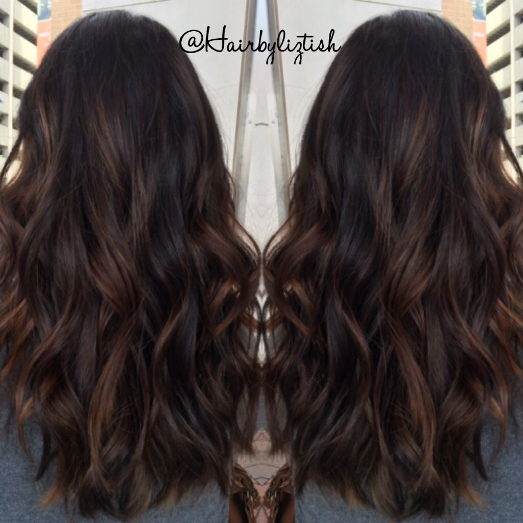 Balayage I Painted On My Dear Friend Becca Balayage Brunette