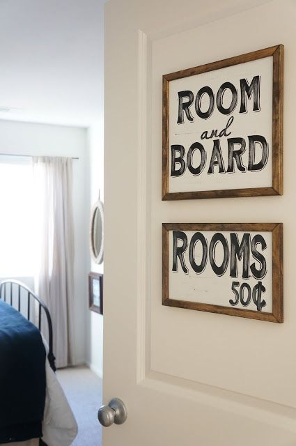 Signs For The Guest Room Door Available On Etsy Down Grace