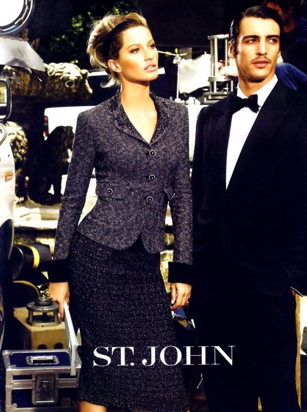 St. John Ads <3 Gisele Bundchen